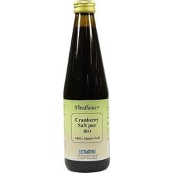 CRANBERRY SAFT pur Bio Vitalhaus 330 ml