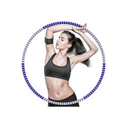 ANVASK Hula-Hoop-Reifen Hula Hoop Fitness Hula Hoop Gewichtsverlust Hula Hoop Reifen (6-tlg)