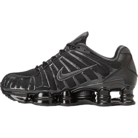 Nike Men's Shox TL black/metallic hematite/max orange/black 42,5