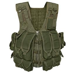 Mil-Tec Kampfmittelweste AK74 mit 12 Taschen oliv