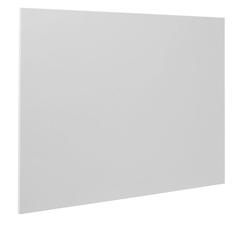 Bi-office whiteboard, magnetttafel ohne rahmen, 1480 x 980 mm