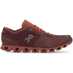 On Cloud X - Stabilitäts-Laufschuh - Herren Red 12 US