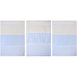 stuco Geschirrtuch Utensilien, (Set, 9 tlg.), in zwei Varianten blau Geschirrtücher Küchenhelfer Haushaltswaren