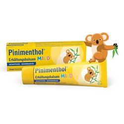 PINIMENTHOL Erkältungsbalsam mild 20 g