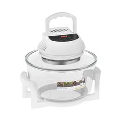 bredeco Halogenofen mit Erweiterungsring - digital - 250 °C - 180 min BCHO-17L-D