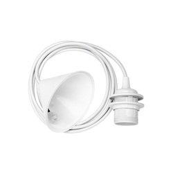 Umage Deckenleuchte Umage / VITA Kabelset inkl. Baldachin E27 weiss 210 x 12 x 12 cm für A++ bis E Lampe