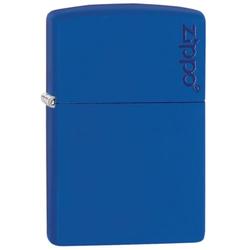 Zippo Royal Blue matte mit Logo 60001205