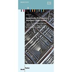 Japanische Stahlsorten. Walter Tirler  - Buch