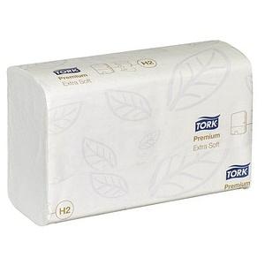 TORK Papierhandtücher Xpress® H2 Premium Extra Soft Interfold-Falzung 2-lagig 2.100 Tücher