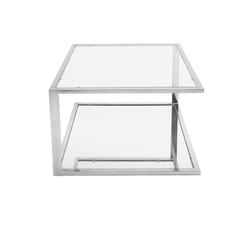 Ława szklana Ozgar 90x90 cm