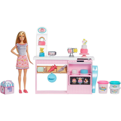 Mattel® Anziehpuppe Barbie Tortenbäckerei Spielset mit Puppe, blond