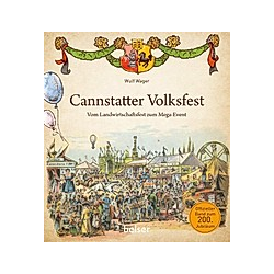 Cannstatter Volksfest. Wulf Wager  - Buch