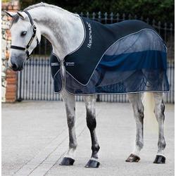 Horseware Rambo Show Net Cooler Navy blau, Horseware Deckengröße: 160 cm / 7´0