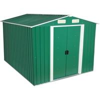 Zelsius Geräteschuppen mit Giebeldach 3,00 x 2,50 m grün