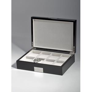 Rothenschild Uhrenbox RS-2022-8BL fuer 8 Uhren black