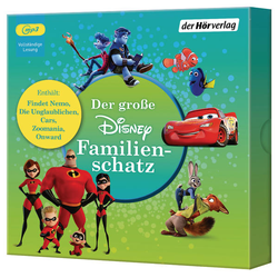 Der große Disney-Familienschatz als Hörbuch CD von