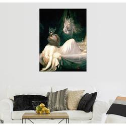 Posterlounge Wandbild, Der Albtraum 60 cm x 80 cm