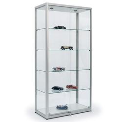 Glasvitrine für Modellautos 100 x 200 x 50 cm