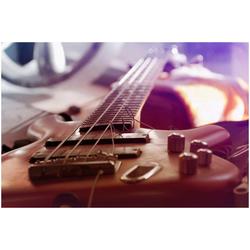 Art & Pleasure Acrylglasbild Bass guitar, Gitarre