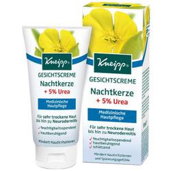 Kneipp® Nachtkerze +5% Urea Gesichtscreme, Medizinische Hautpflege für sehr trockene Haut bis hin zu Neurodermitis, 50 ml - Tube