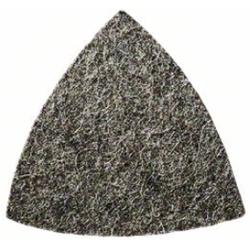 Vlies für Dreieckschleifer. 93 mm. 100. mittel