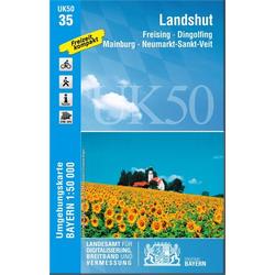 Landshut 1 : 50 000 (UK50-35)