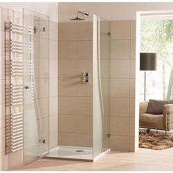 Sprinz BS-Dusche 75 Eck-Duschkabine, Duschtür mit Seitenwand