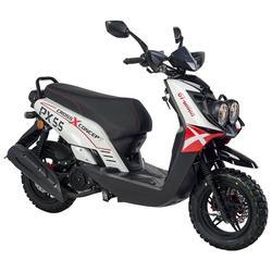 GT UNION Motorroller PX55 Cross-Concept 125, 125 ccm, 85 km/h, Euro 4