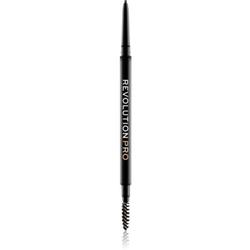 Revolution PRO Microblading Augenbrauenstift Farbton Dark Brown 0.04 g