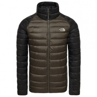The North Face Trevail Daunenjacke new taupe green/tnf black L