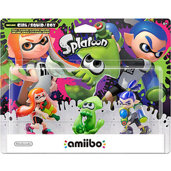 Amiibo Splatoon 3er Pack
