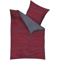 Mako-Satin rubin 135 x 200 cm + 80 x 80 cm