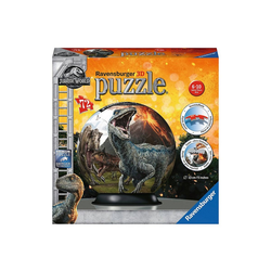Ravensburger 3D-Puzzle puzzleball® Ø13 cm, 72 Teile, Jurassic World 2, Puzzleteile