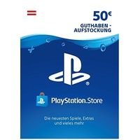Sony PSN Guthabenkarte (50 EUR) (AT)