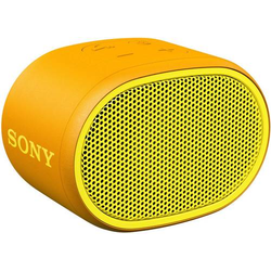 Sony SRS-XB01 Bluetooth® Lautsprecher AUX, Wasserfest Gelb