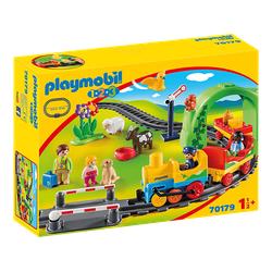 PLAYMOBIL 70179 Meine erste Eisenbahn Spielset, Mehrfarbig