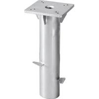 Schneider Schirme Bodenplatte Universal, Stahl, für Ampelschirme silberfarben