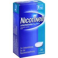 Novartis Nicotinell Mint 1 mg Lutschtabletten 36 St.