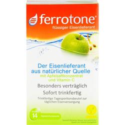 FERROTONE Eisen m.Apfelkonzentrat u.Vitamin C Btl. 350 ml