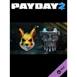 PAYDAY 2: Electarodent and Titan Masks Steam Key GLOBAL