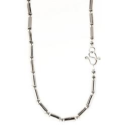 Kiss of Leather Silberkette Silber Kette aus 925 Sterlicng Silber Hülsenkette