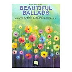 Beautiful Ballads  For Piano  Voice & Guitar - Buch