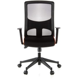 HJH Office Lavita schwarz / orange