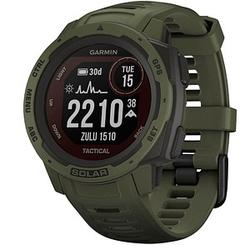 GARMIN Instinct Solar Tactical Smartwatch grün, schwarz