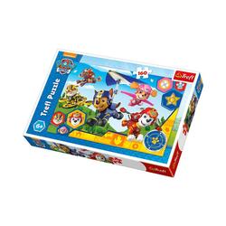 Trefl Puzzle Puzzle 160 Teile - Paw Patrol, Puzzleteile