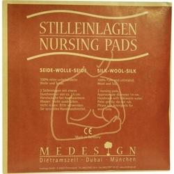 STILLEINLAGEN Seide/Wolle/Seide 2 St