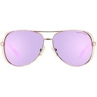 Michael Kors Chelsea MK5004 10034V rosegold/purple mirrored