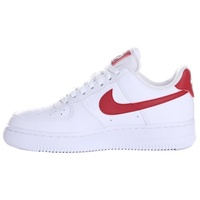 Nike Women's Air Force 1 '07 white/noble red 40,5