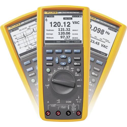 Fluke 289/EUR Hand-Multimeter digital Grafik-Display, Datenlogger CAT III 1000 V, CAT IV 600V Anzeig
