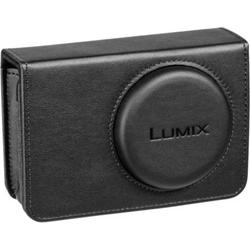 Panasonic DMW-PHS72XEK Kunstledertasche Kameratasche Schwarz